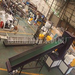 大型塑料造粒机械生产视频