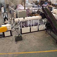 大型塑料颗粒机生产试机视频