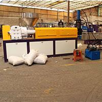 专业生产制造单螺杆塑料造粒机生产线